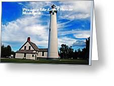 Presque Isle Greeting Card