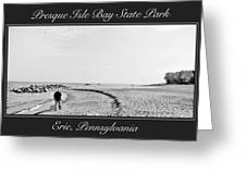 Presque Isle State Park Erie Pennsylvania Greeting Card