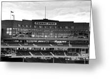 Press Box Greeting Card by Jonathan Harper