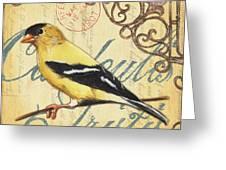 Pretty Bird 3 Greeting Card
