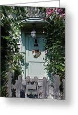 Pretty Door In Nether Wallop Greeting Card