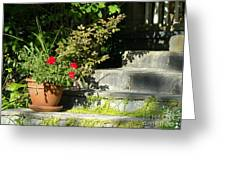 Pretty Gardens Greeting Card