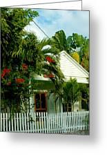 Pretty Key West Florida Greeting Card
