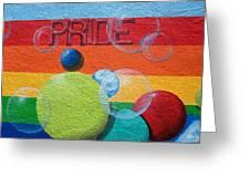 Pride 5 Greeting Card