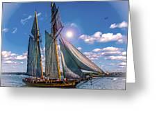 Pride Of Baltimore 3 Greeting Card