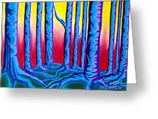 Primary Forest One Greeting Card