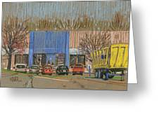 Primary Loading Docks Greeting Card by Donald Maier