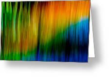 Primary Rainbow Greeting Card