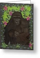 Primordial Spirit Of Motherhood Greeting Card