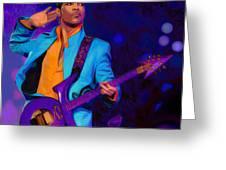 Prince 3 Greeting Card