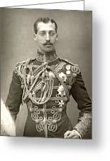 Prince Albert Victor Greeting Card