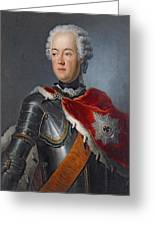 Prince Augustus William Oil On Canvas Greeting Card