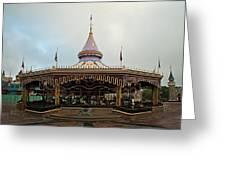 Prince Charmings Regal Carousel Greeting Card