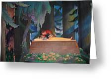 Prince Kisses Snow White Greeting Card