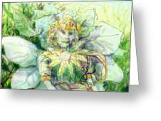 Prince Of Flowers Greeting Card