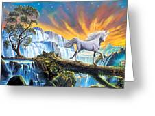 Prince Of The Mountains Greeting Card