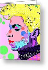 Prince Greeting Card by Ricky Sencion