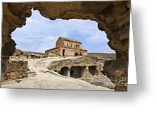 Prince's Church In Uplistsikhe Gori Georgia  Greeting Card by Robert Preston
