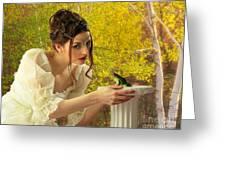 Princess And A Frog Greeting Card