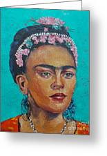 Princess Frida Greeting Card by Lilibeth Andre