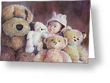Princess Layla And Friends Greeting Card by Gabriele Baber