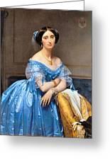 Princesse Albert De Broglie Nee Josephine Eleonare Marie Pauline De Galard De Brassac De Bearn Greeting Card