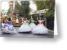 Princesses Greeting Card by Malania Hammer