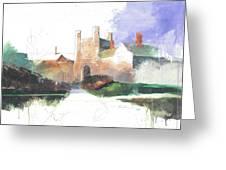 Princeton Blair Hall Greeting Card