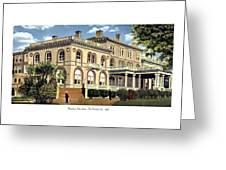 Princeton New Jersey - The Princeton Inn - 1925 Greeting Card