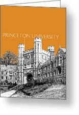 Princeton University - Dark Orange Greeting Card