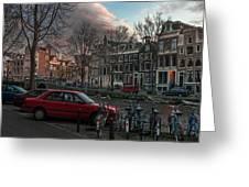 Prinsengracht 791. Amsterdam. Greeting Card