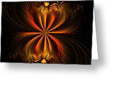 Printemps Papillon - Abstract Expressionism Greeting Card
