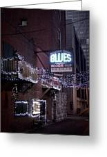 Printers Alley 2 Greeting Card
