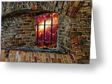 Prison In The Cosmos Greeting Card