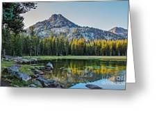 Pristine Alpine Lake Greeting Card