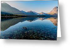 Pristine Lake Greeting Card