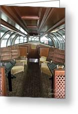 Private Dome Rail Car  Greeting Card