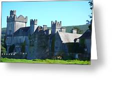 Private Property - Castle Art By Charlie Brock Greeting Card
