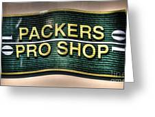 Pro Shop Poster Greeting Card