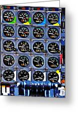 Concorde Controls Greeting Card