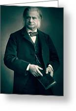 Professor Thomas H Huxley Greeting Card