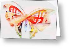 Profound Thought Butterfly Greeting Card