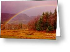 Promise And Hope Cape Breton Greeting Card