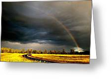 Promise On The Mother Road Rt 66 Flagstaff Az Greeting Card