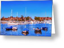 Promontory Point - Newport Beach Greeting Card