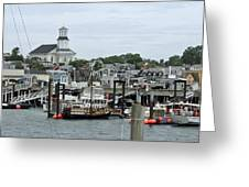 Pronvincetown Harbor Greeting Card