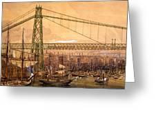 Proposed Railway Bridge Greeting Card