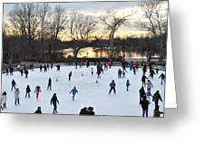 Prospect Park Skating Rink At Sunset Photograph By Diane Lent