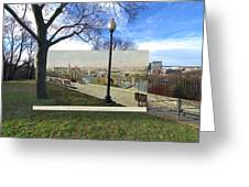 Prospect Terrace In Providence Rhode Island Greeting Card