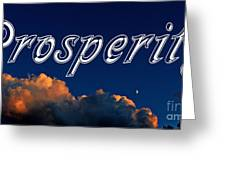 Prosperity Greeting Card